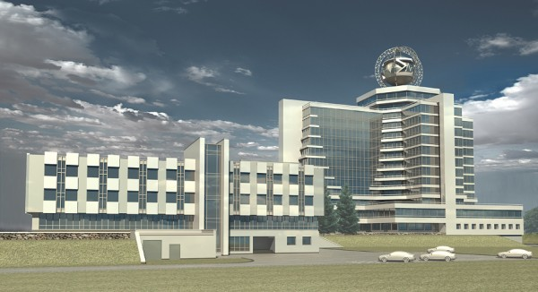 Гостиница в Академгородке