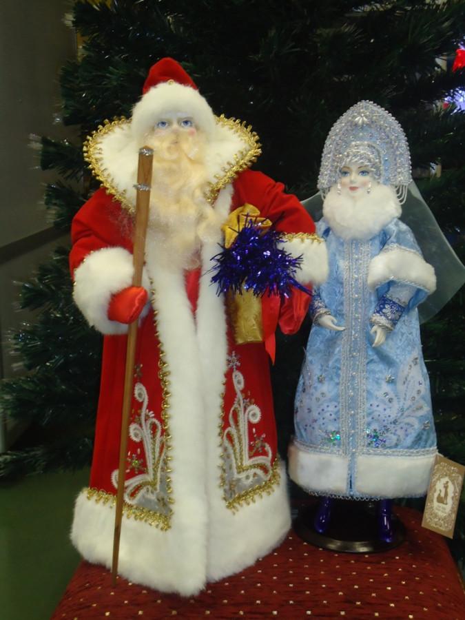 Сделать деда мороза и снегурочку своими руками
