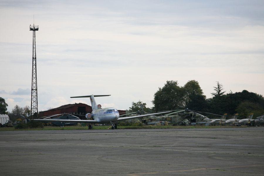 самолет шеварднадзе