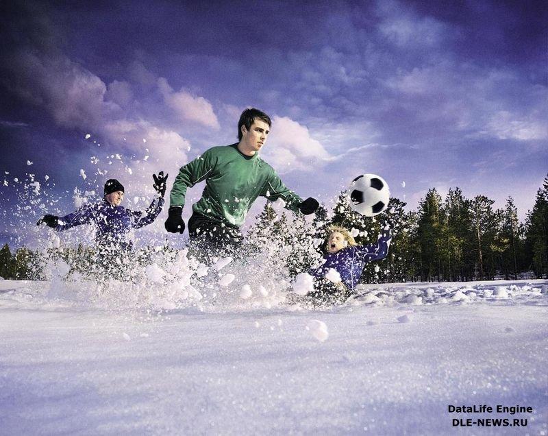 зимний футбол картинки для