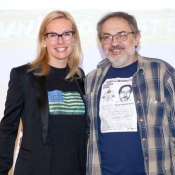 Марат Гельман и Анна Терешкова вфутболке с сепаратистким флагом