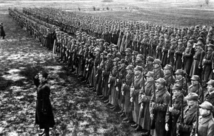 Польские солдаты в СССР. Весна 1942 г.