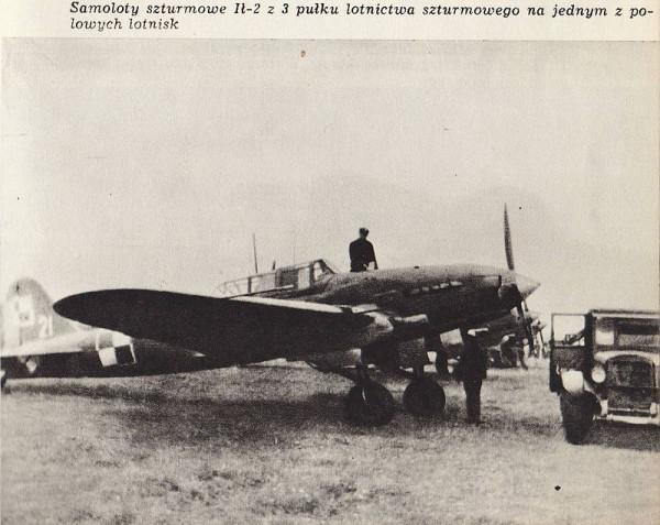 штурмовик Ил-2 1-й армии Войска Польского.