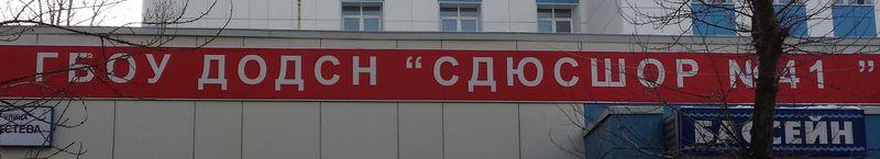 ГБОУ ДОДСН СДЮСШОР №41