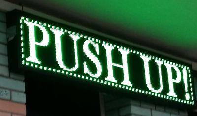 PUSH UP!