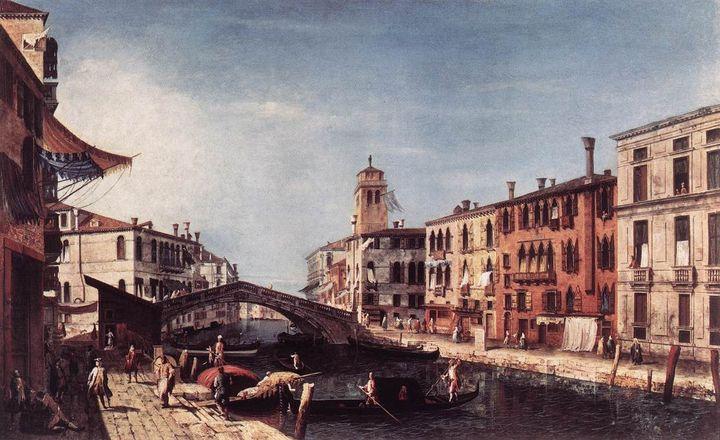 Микеле Мариески, 'Вид на канал Каннареджо', ок. 1740