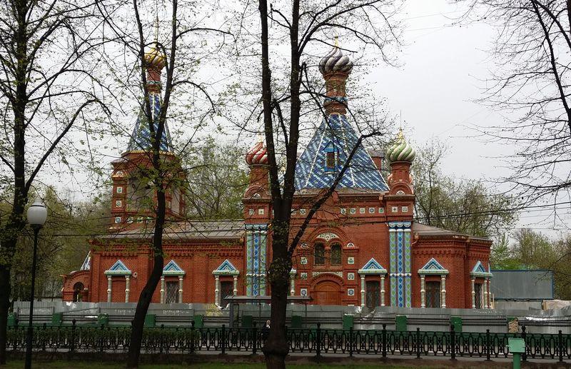 Храм Тихвинской иконы Божией Матери на Хавской улице