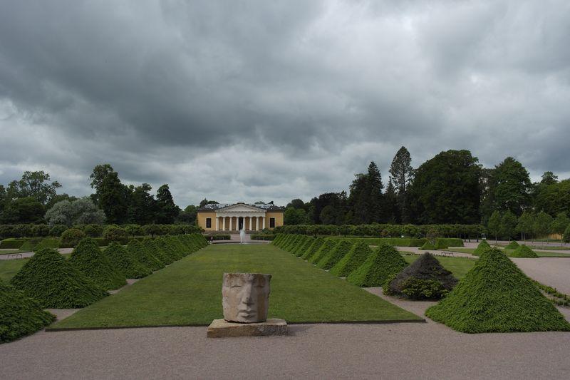 Упсала. Ботанический сад