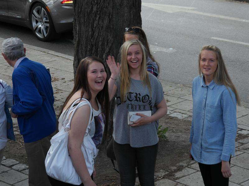 Стокгольм. Голубоглазые блондинки