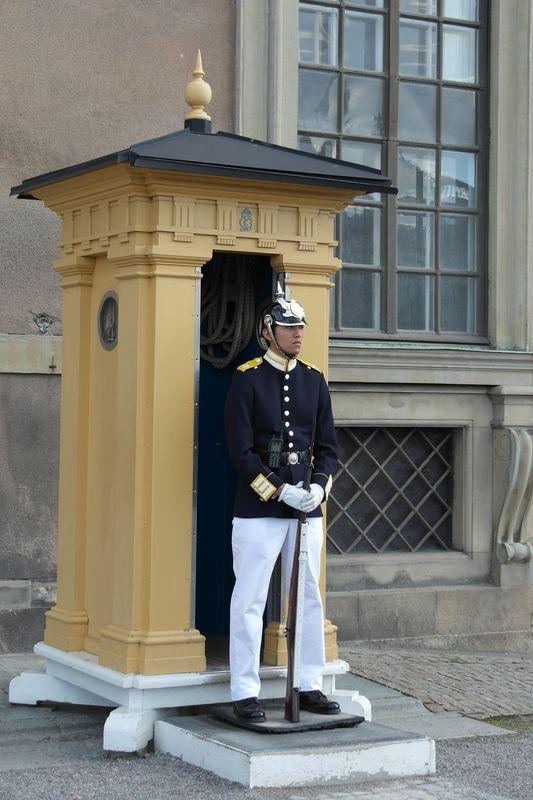 Стокгольм. Королевский гвардеец