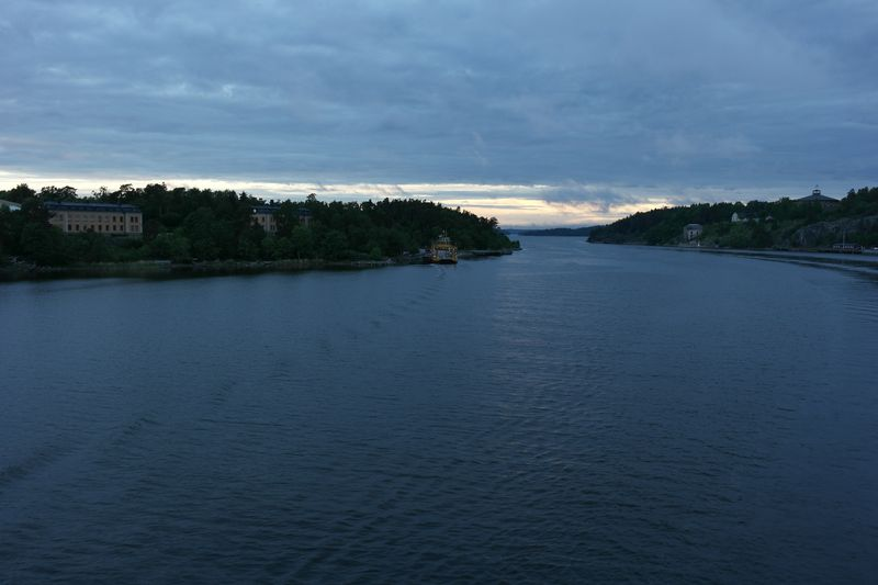 Шхеры неподалёку от Стокгольма