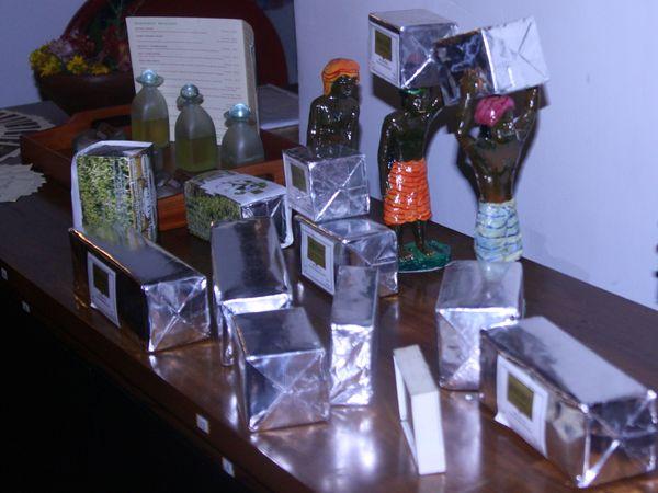 Organic tea, произведённый рядом и продающийся в отеле