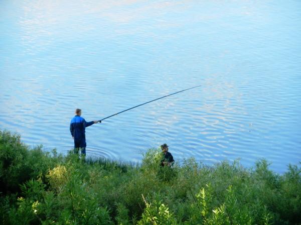 Рыбак на Сухоне