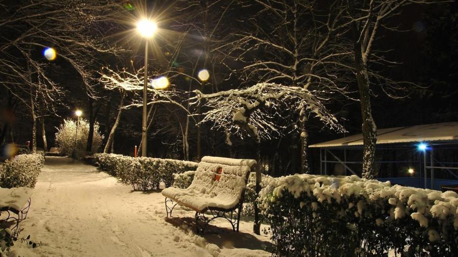 20/30/50cm christmas led meteor shower tube snowfall lights new year decoration