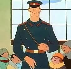 Кард из мультфильма