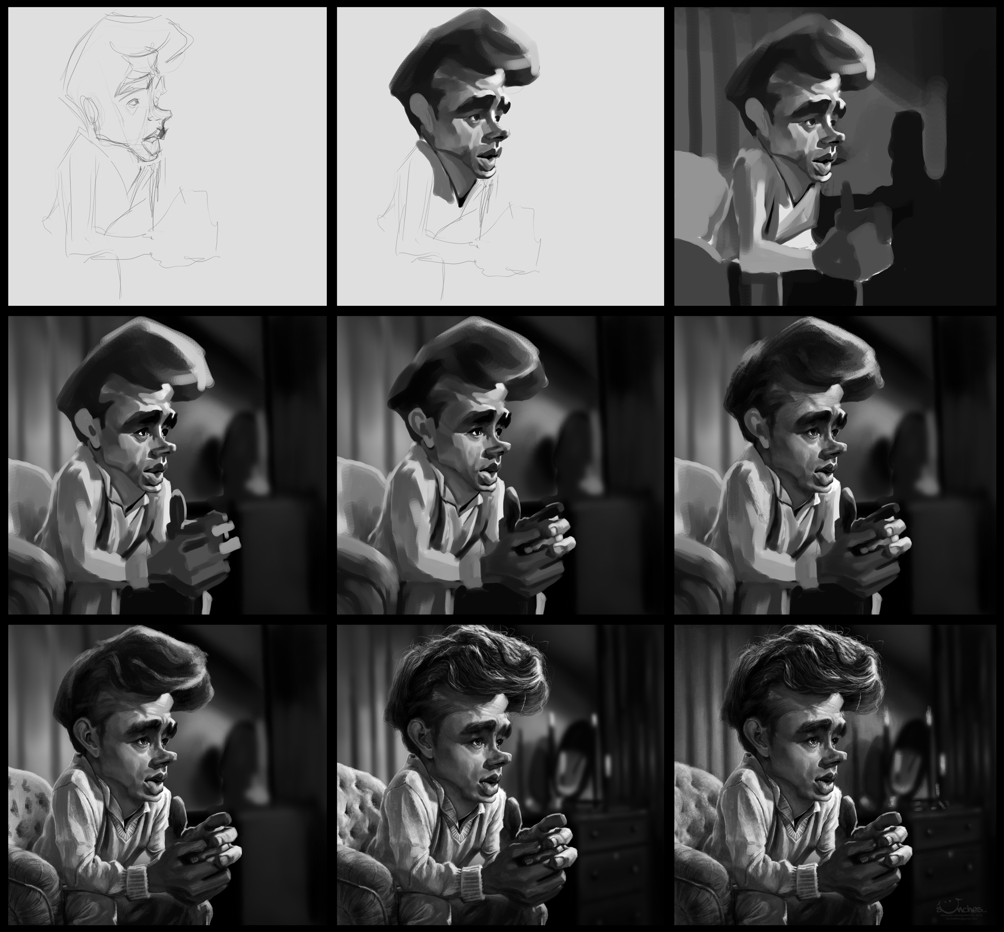 jamesdean_stages