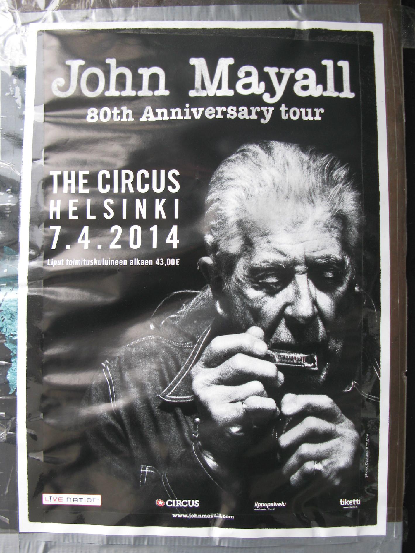 mayall-poster