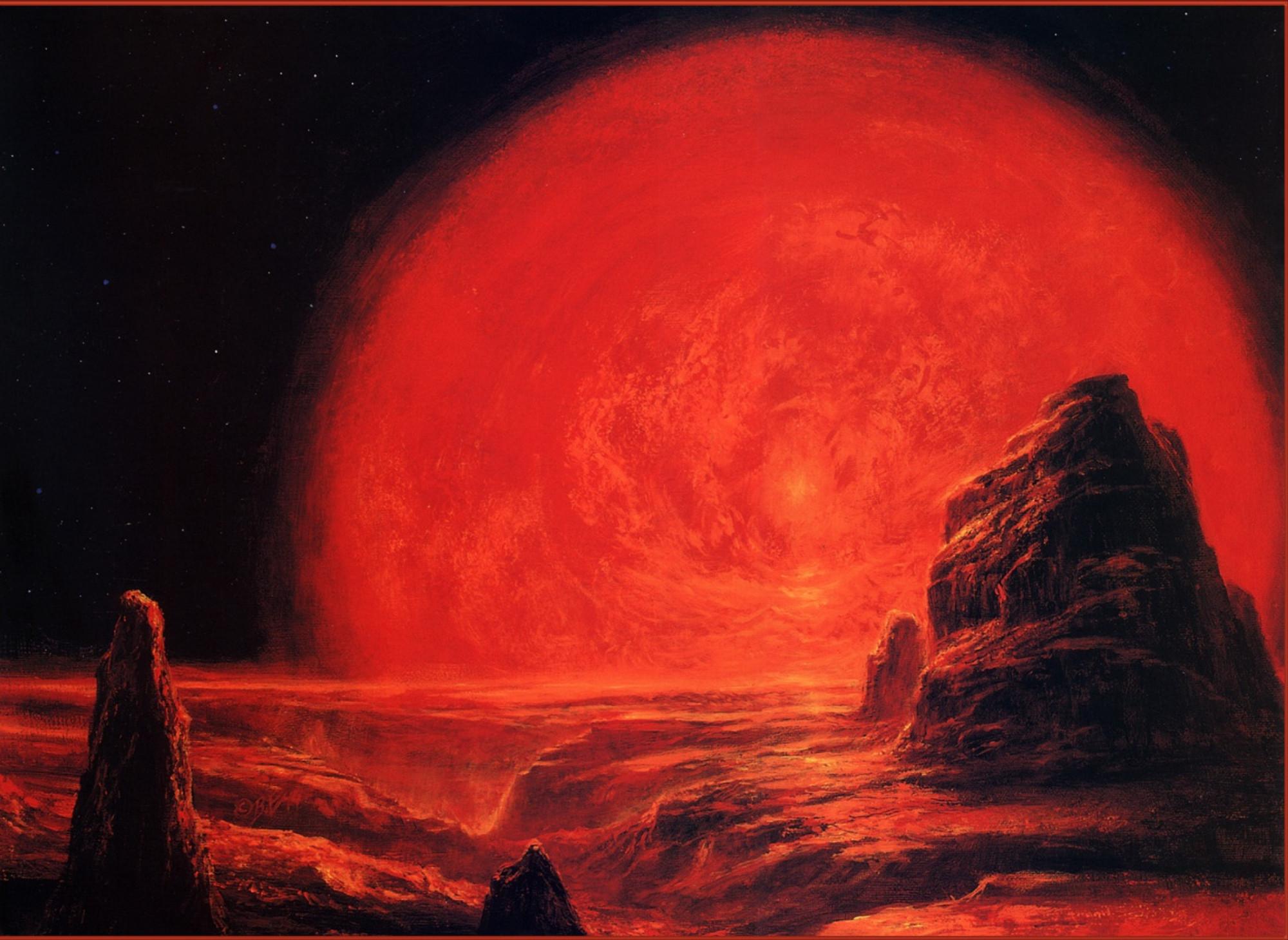 red giant sun - HD1096×800