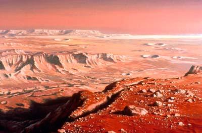 9. Долина Маринера. Источник http://www.ludekpesek.ch/ludek_pesek_mars_paintings_noel_cramer.php