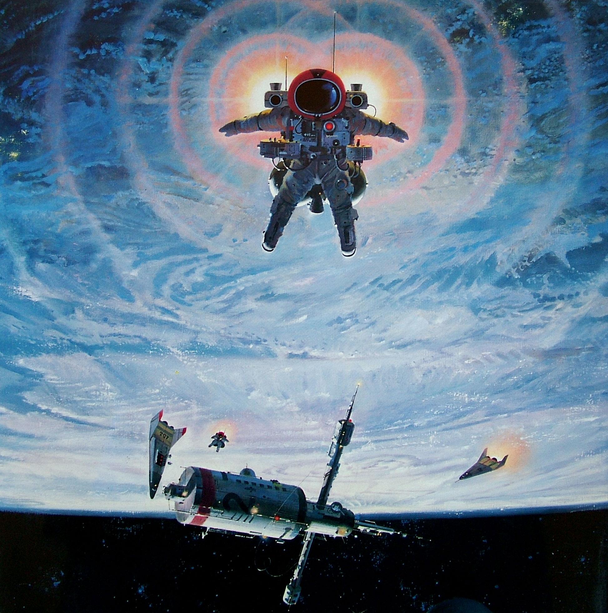 6. Астронавт Эдвард Эйч Уайт 2-й. Первый американец, прогуливающийся в космосе.  1970