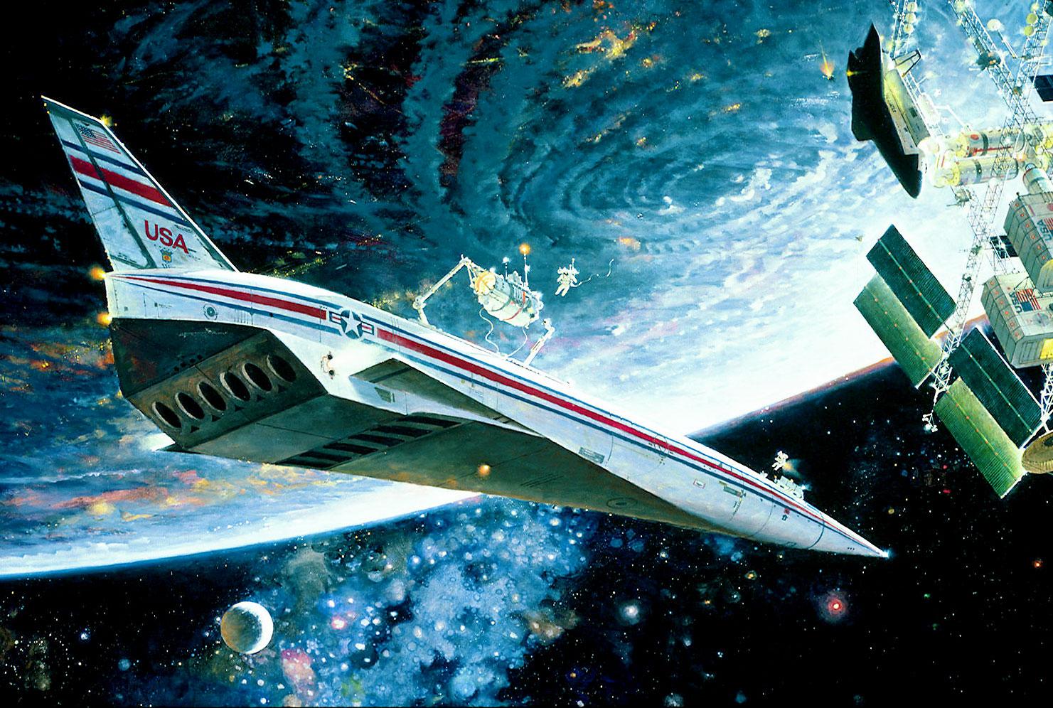 7. Изучение космического фронтира. 1988