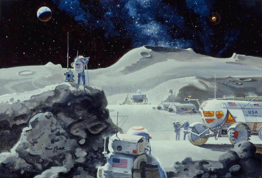 11. Возвращение на Луну. 1991