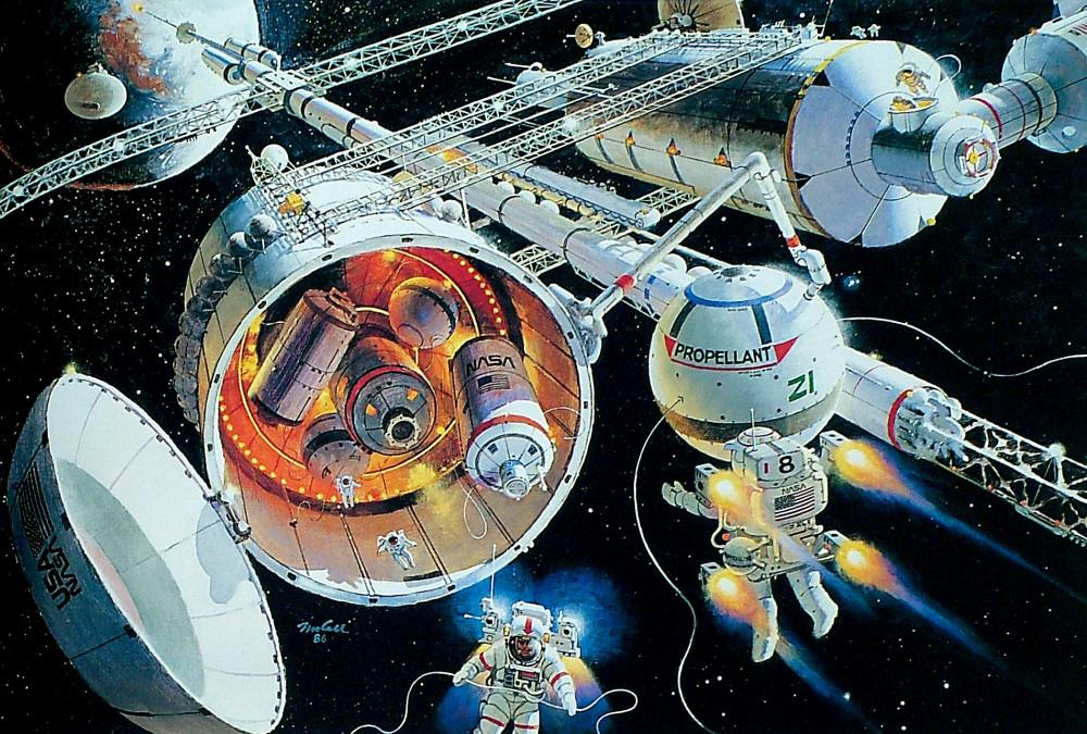 12. Космический порт L1. 1986