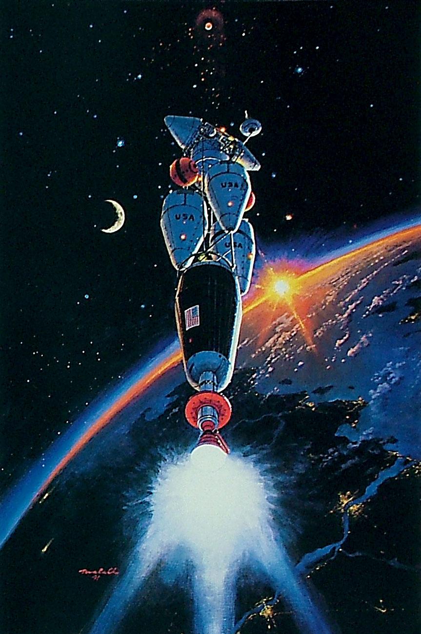 16. Марсианский транспортник. 1986
