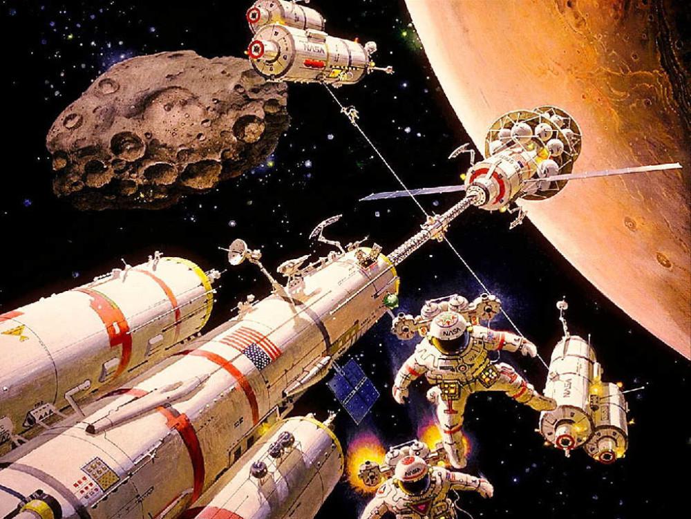 19. Прибытие на Марс. 1987