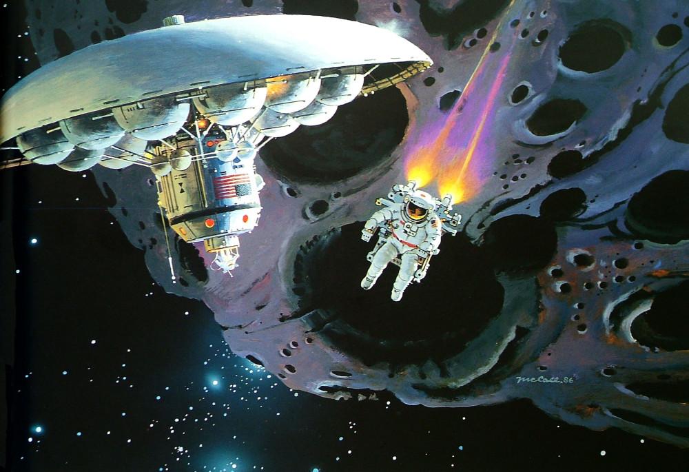 21. Изучение астероида. 1986