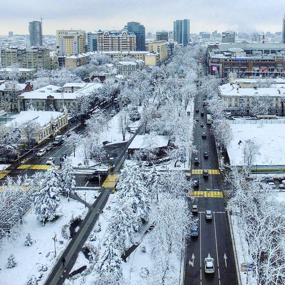 Фото краснодара в марте сейчас