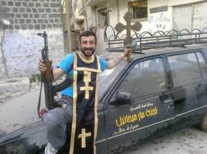 Панк-молебен сирийских мальчиков (боевиков) из Хомса