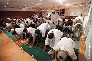 Мусульмане в син