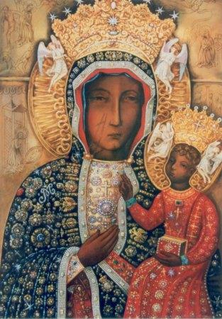 Икона Ченстоховской Богоматери