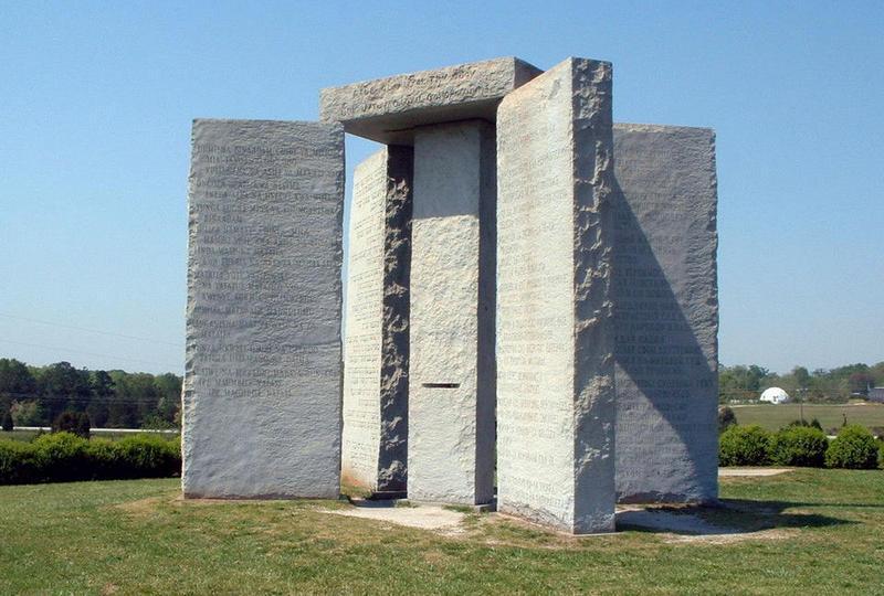 Памятник в Джорджии