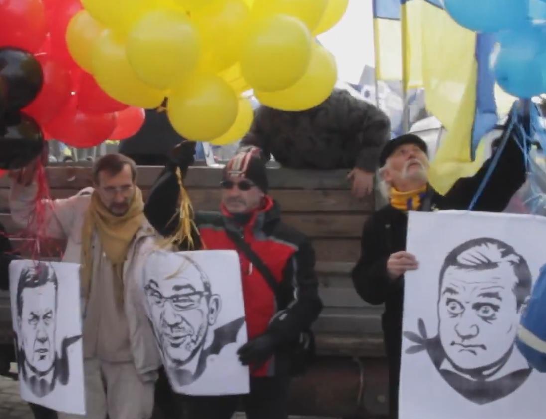 Западенцы в Харькове