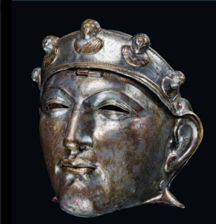 Личина от римского кавалерийского шлема 1-й - 3-й век н.э.