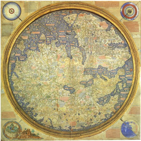 Карта Фра Мауро 1459 года