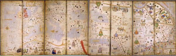 Каталонский атлас 1375