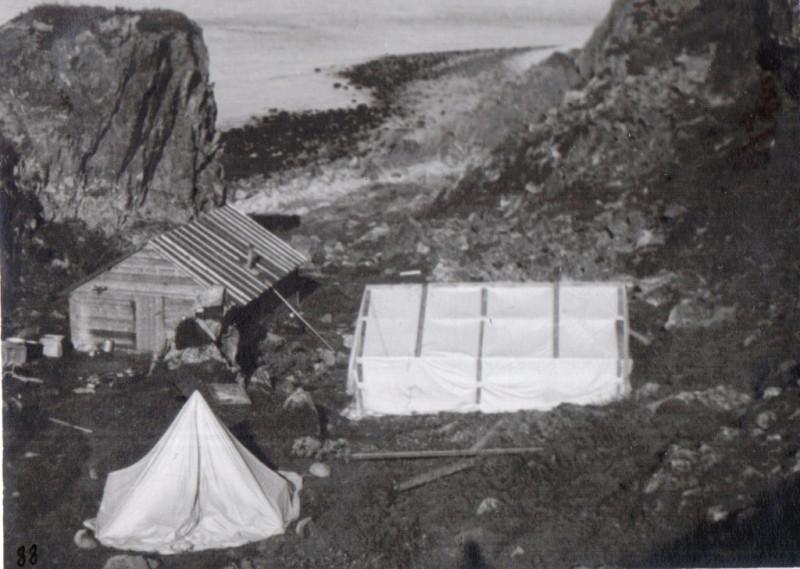 первые постройки на Харлове
