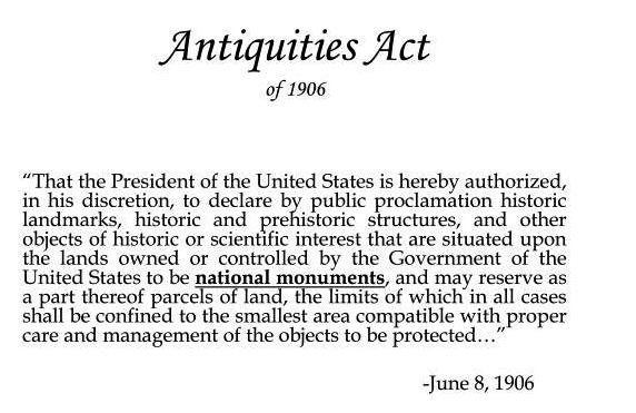 antiquities-act-of-1906-n