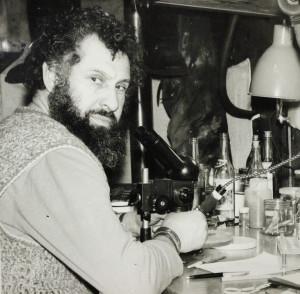 moskalev_на СП-22. Фото из Альбома лаборатории донной фауны ИО РАН