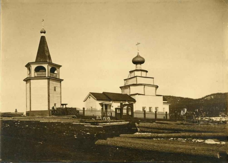 1900-17. Церковь Рождества Иоанна Предтечи в Кандалакше (1)