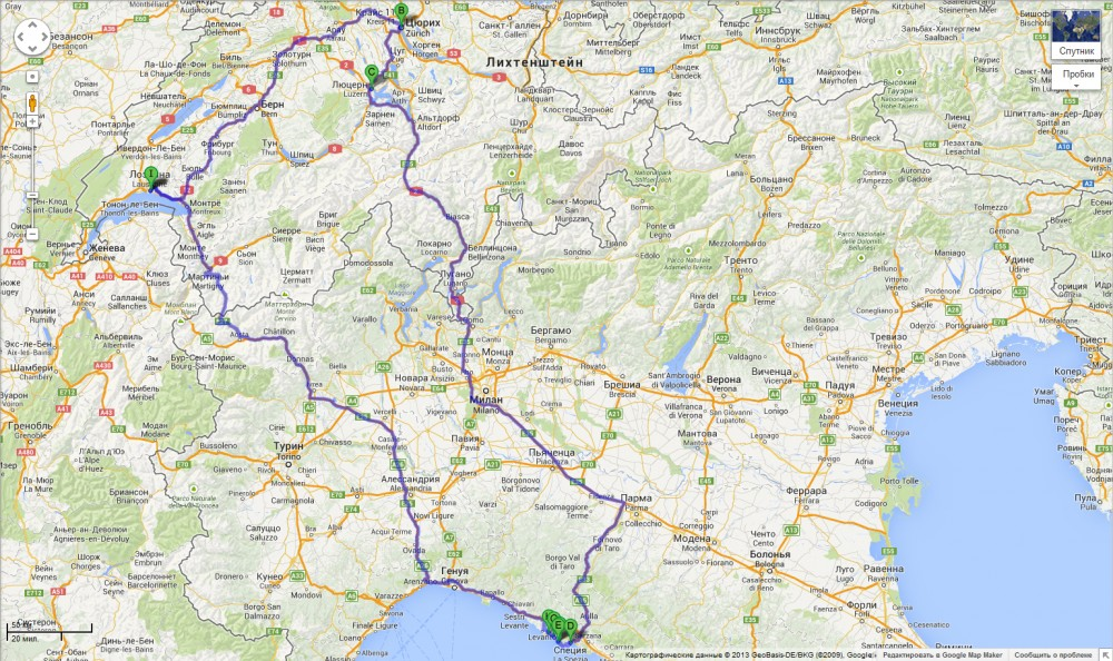map-Switherland-Italy