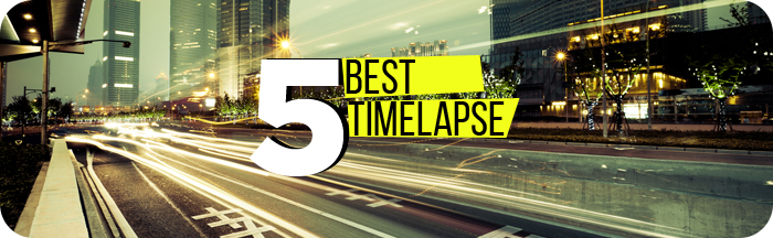 5 лучших timelapse видео. Города мира