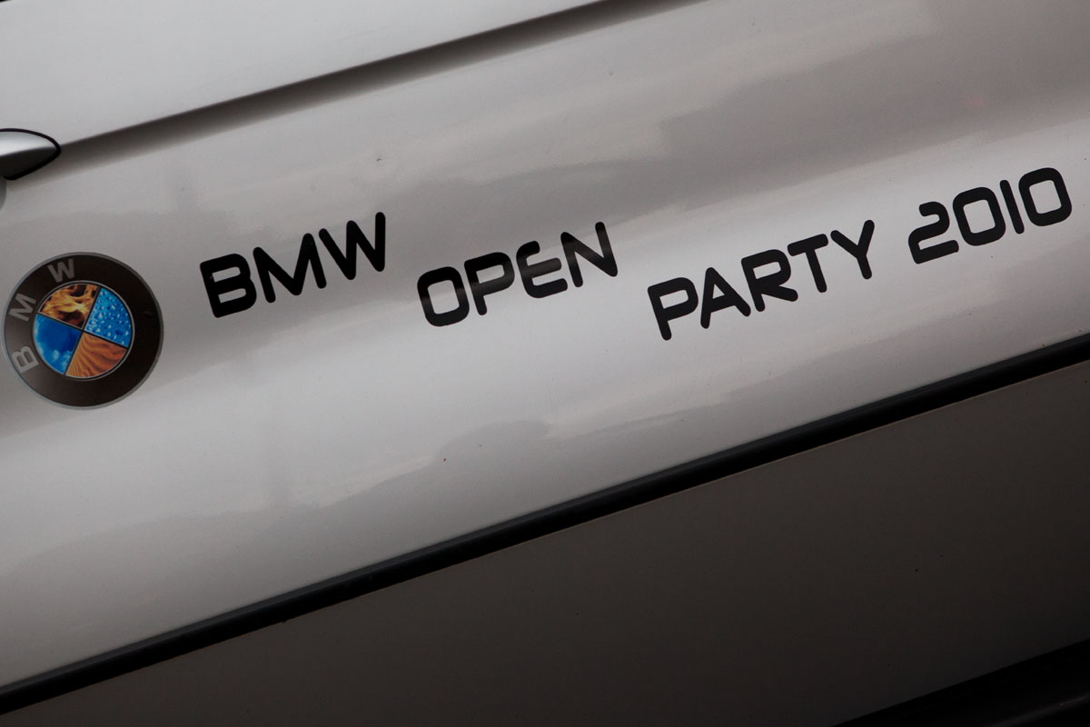 BMW Open Party 2010