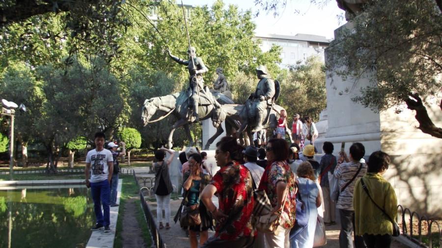 monumento Cervantes - 9