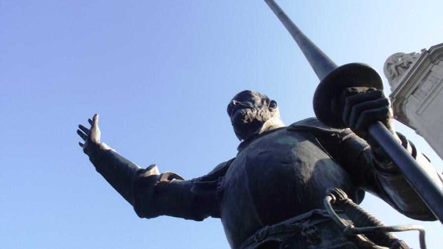 monumento Cervantes - 8