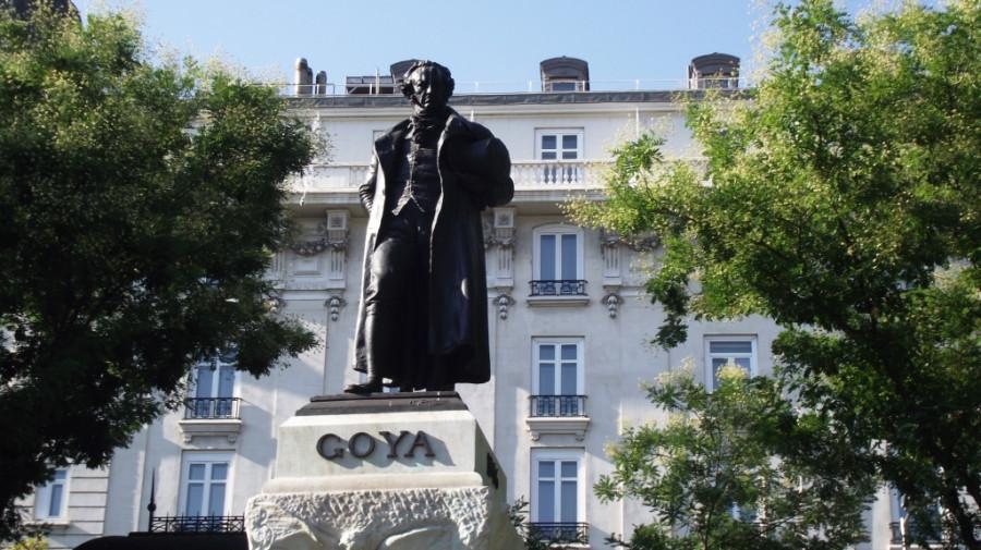 Prado monumento de Goya