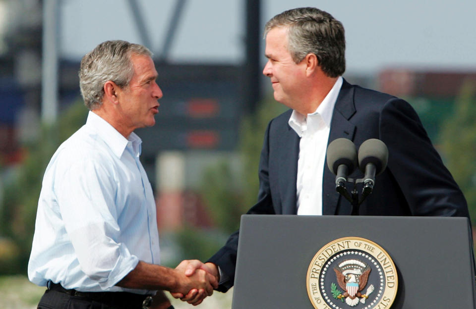 George W. Bush hopes brother runs in 2016